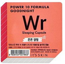 Parfumuri și produse cosmetice Mască de noapte pentru față - It's Skin Power 10 Formula Goodnight Sleeping Capsule WR