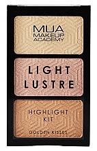Parfumuri și produse cosmetice Paletă highlighter - MUA Light Lustre Trio Highlight