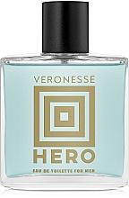 Parfumuri și produse cosmetice Vittorio Bellucci Veronesse Hero - Apă de toaletă