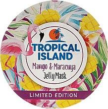 "Parfumuri și produse cosmetice Mască de față ""Mango și Marakuya"" - Marion Tropical Island Mango & Maracuya Jelly Mask"
