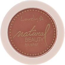 Fard compact de obraz - Lovely Natural Beauty Blusher — Imagine N1