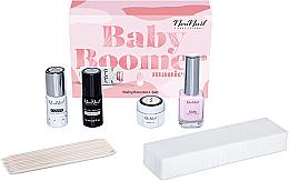 Parfumuri și produse cosmetice Set - NeoNail Professional Baby Boomer Set (top/7,2ml + base/7,2ml + gel/5ml + gum/12ml + sponge/25pc + sticks/10pc)
