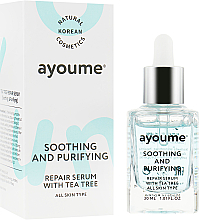 Parfumuri și produse cosmetice Ser facial calmant - Ayoume Tea Tree Soothing & Purifying Serum