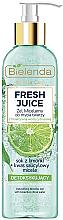 Духи, Парфюмерия, косметика Gel de curățare pentru față - Bielenda Fresh Juice Detox Lime