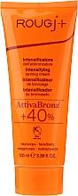 Parfumuri și produse cosmetice Cremă-activator de bronz - Rougj+ Intensifying Tanning Cream