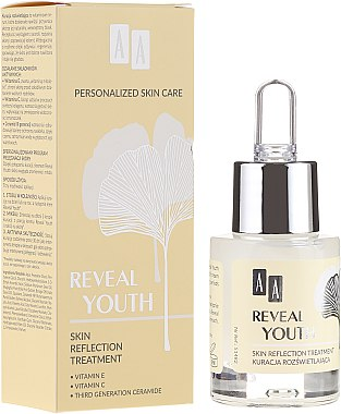 Ser iluminator pentru față - AA Reveal Youth Skin Reflection Treatment — Imagine N1