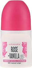 "Deodorant roll-on ""Trandafir și Vanilie"" - Schmidt's Rose + Vanille Deo Roll-On — Imagine N1"