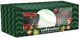 Parfumuri și produse cosmetice Set - Cafe Mimi Ginger Man (ball/bath/120g + soap/scr/110ml + b/cr/110ml)