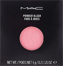 Parfumuri și produse cosmetice Fard de obraz - M.A.C Powder Blush Pro Palette Refill (rezervă)