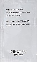 """Parfumuri și produse cosmetice Mască de curățare """"Argilă albă"""" pentru față - Pilaten White Clay Mask Blackhead Extraction Acne Removal (mostră)"""