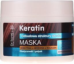 Parfumuri și produse cosmetice Mască pentru păr slăbit și fragil - Dr. Sante Keratin Mask