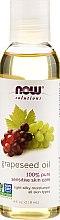 Parfumuri și produse cosmetice Ulei de semințe de struguri - Now Foods Solutions Grapeseed Oil
