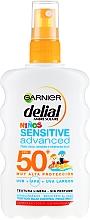 Parfumuri și produse cosmetice Spray cu protecție solară, pentru copii - Garnier Ambre Solaire Delial Kids Sensitive Spray SPF50