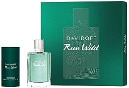 Parfumuri și produse cosmetice Davidoff Run Wild Men - Set (edt/100ml + deo/70g)