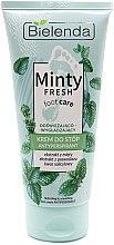 Parfumuri și produse cosmetice Cremă-antiperspirant revigorantă și netezitoare pentru picioare - Bielenda Minty Fresh Foot Care Antiperspirant Refreshing & Smoothing Cream