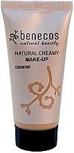 Parfumuri și produse cosmetice Fond de ten - Benecos Natural Creamy Foundation Make-Up