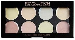 Parfumuri și produse cosmetice Paletă cu cremă iluminatoare - Makeup Revolution Ultra Strobe Balm Palette