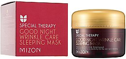 Parfumuri și produse cosmetice Mască nutritivă antirid cu retinol, de noapte - Mizon Good Night Wrinkle Care Sleeping Mask