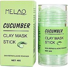 """Parfumuri și produse cosmetice Mască-stick pentru față """"Cucumber"""" - Melao Cucumber Clay Mask Stick"""