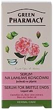 Parfumuri și produse cosmetice Ser de mătase pentru păr - Green Pharmacy