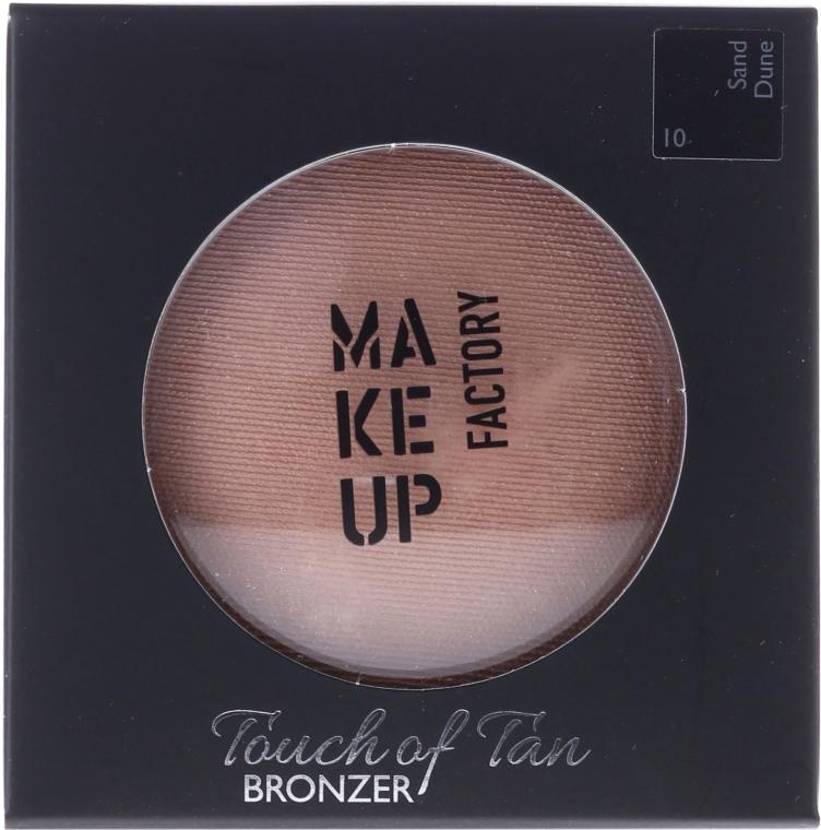 Bronzer pentru față - Make up Factory Touch Of Tan Bronzer — Imagine N1