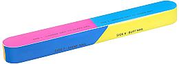 Parfumuri și produse cosmetice Buffer pentru unghii 163x22x17mm - Tools For Beauty 7-way Nail Buffer Block