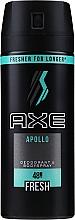 Parfumuri și produse cosmetice Deospray pentru bărbați - Axe Deodorant Bodyspray Apollo