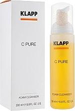 Parfumuri și produse cosmetice Spumă cu vitamina C de curățare - Klapp C Pure Foam Cleanser