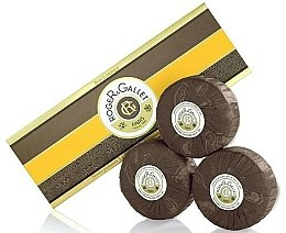 "Parfumuri și produse cosmetice Set săpunuri parfumate ""Portocal"" - Roger & Gallet Bois D'Orange Perfumed Soaps (soap/3x100g )"