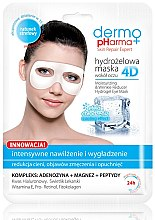 Parfumuri și produse cosmetice Masca pentru contur de ochi - Dermo Pharma 4D Moisturizing & Wrinkle Reduct Hydrogel Eye Mask