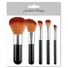 Parfumuri și produse cosmetice Set pensule pentru machiaj, 35760 - Top Choice