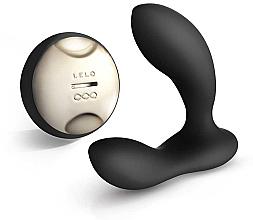 Parfumuri și produse cosmetice Vibro masajor cu telecomandă pentru prostată, negru - Lelo Hugo Black