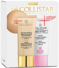 Parfumuri și produse cosmetice Set - Collistar Deep Moisturizing Sun (foundation/30ml + cr/25ml) (6-Sun)