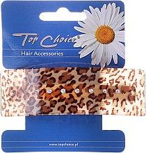 Parfumuri și produse cosmetice Clemă pentru păr 26133, leopard - Top Choice
