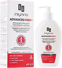 Parfumuri și produse cosmetice Emulsie pentru igiena intimă - AA Advanced Med+