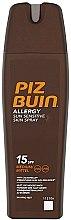 Parfumuri și produse cosmetice Spray de corp cu protecție solară - Piz Buin Allergy Sun Sensitive Skin Spray SPF15