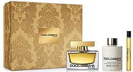 Parfumuri și produse cosmetice Dolce & Gabbana The One - Set (edp/75ml + b/lot/100ml + edp/10ml)
