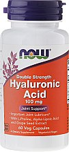 Parfumuri și produse cosmetice Acid hialuronic - Now Foods Hyaluronic Acid 100 mg