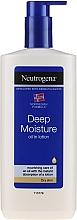 Parfumuri și produse cosmetice Emulsie pentru corp - Neutrogena Deep Moisture Creamy Oil
