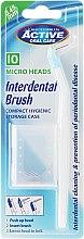 Parfumuri și produse cosmetice Perie pentru dinți + 10 duze - Beauty Formulas Interdent Brush with 10 Micro Heads