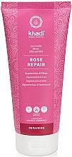 "Parfumuri și produse cosmetice Șampon ""Trandafir"" - Khadi Shampoo Rose Hair Repair"