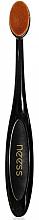 Parfumuri și produse cosmetice Pensulă pentru iluminator și bronzer - Neess Make-Up Brush