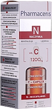 Parfumuri și produse cosmetice Ser de noapte pentru față cu vitamina C - Pharmaceris N Serum with Vit. C 1200mg Strengtening and Smoothing