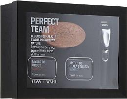 Parfumuri și produse cosmetice Set - Zew Wahl (soap/2x85ml + brush + trimmer)