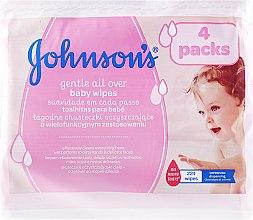 "Parfumuri și produse cosmetice Șervețele umede ""Tender Care"", hipoalergenice, 224 buc - Johnson's® Baby"