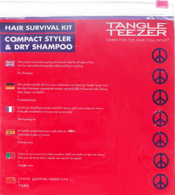 Set - Tangle Teezer Compact Styler Festival Pack (h/brush + d/shamp) — Imagine N8