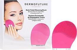 Parfumuri și produse cosmetice Perie pentru față, roz - Dermofuture