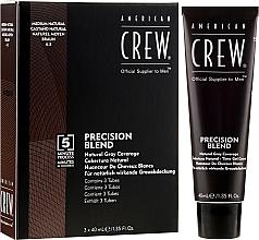 Parfumuri și produse cosmetice Sistem de mascare a părului gri - American Crew Precision Blend Shades