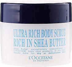 Parfumuri și produse cosmetice Scrub de corp ultranutritiv - L'occitane Shea Butter Ultra Rich Body Scrub