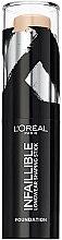 Parfumuri și produse cosmetice Fond de ten - L'Oreal Paris Infallible Shaping Stick Foundation